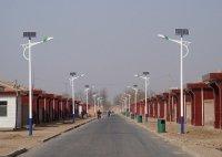 德州武城四女寺景区新农村安置社区太阳能路灯工程