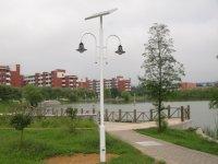 潍坊公园景区太阳能庭院灯工程