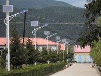 北京山区风景区太阳能路灯工程